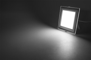 GLASSY SQUARE LED 18W